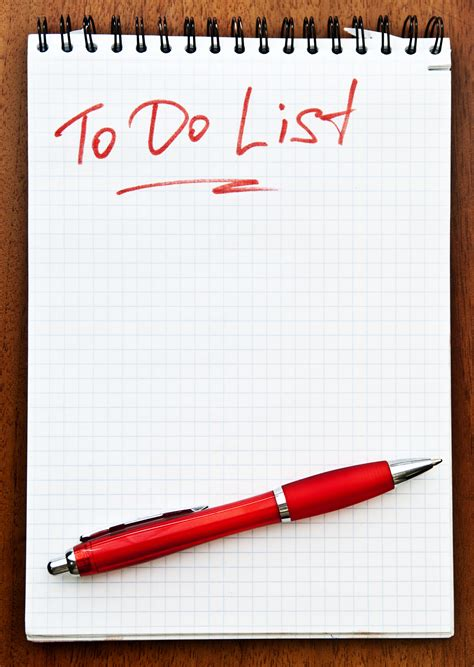 for to do your annual financial to do list 2016 exemplar