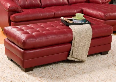 red bonded leather sofa red bonded leather sectional sofa he739r leather sectionals