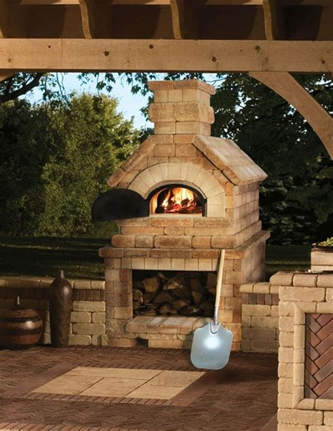 pizza oven backyard pinterest