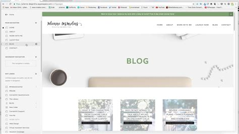 squarespace blog templates image collections templates