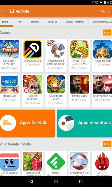 aptoide best apps best android apps you should try today on your android phone
