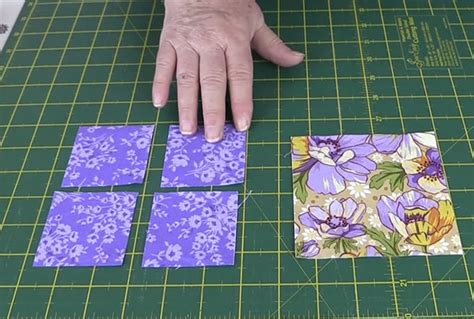Cutting Quilting Squares by Quilting Blocks Square In A Square Quilt Block Tutorial