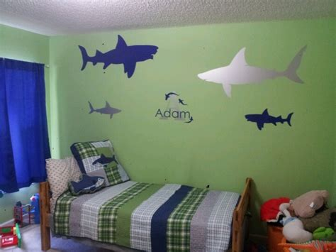 Shark Bedroom Curtains Shark Bedroom Nesting Big Boy Room Ideas Pinterest