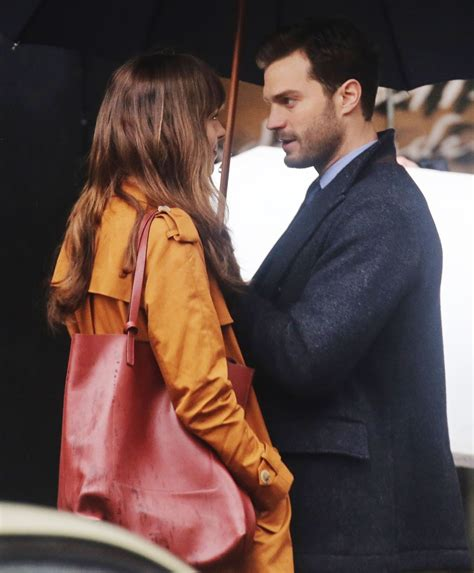 fifty shades darker filming video fifty shades updates hq photos dakota johnson and jamie