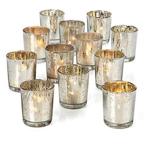 Mercury Glass Candle Holders Z Gallerie silver mercury glass votives z gallerie