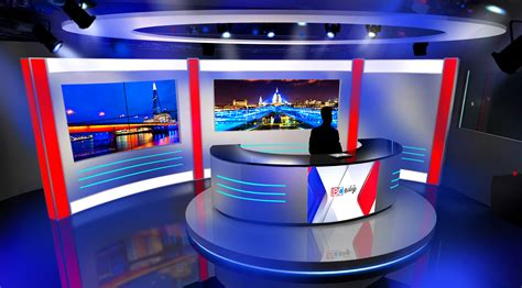 Lighting News by Ibc Tamil Tv Set Design And Set Build