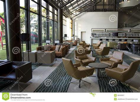 Modern Interior Design Blogs hotel lobby lounge bar royalty free stock photography