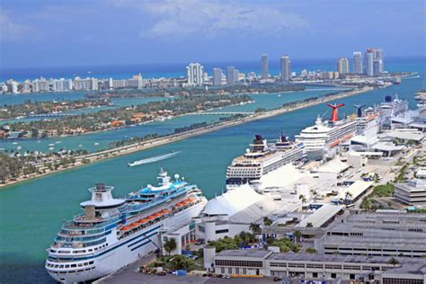Car Rental At Miami Cruise Port carnival cruise line port of miami new punchaos