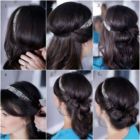 homemade hairstyles diy banded chignon hairstyle for all the beauties out there