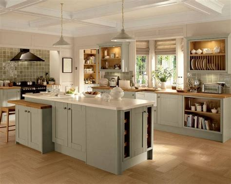 Country Kitchen With White Cabinets by Howdens Skye Kitchen Pinterest