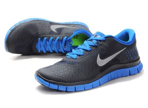 Nike Free 40 V2 Mens Shoes Gray Blue P 1648 by Nike Free 4 0 V2 Mens Shoes Blue Grey Fr086 59 00