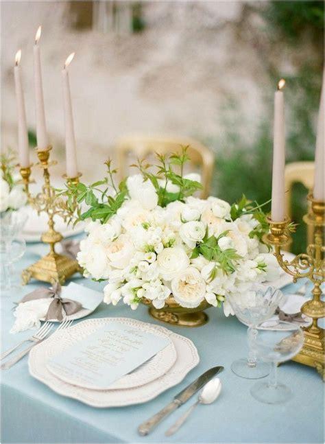 Dusty Blue and Gold Wedding Inspiration   Wedding   Dusty