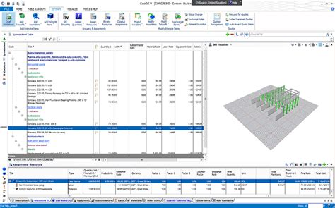 2d Modeling Online cost estimating software costos nomitech