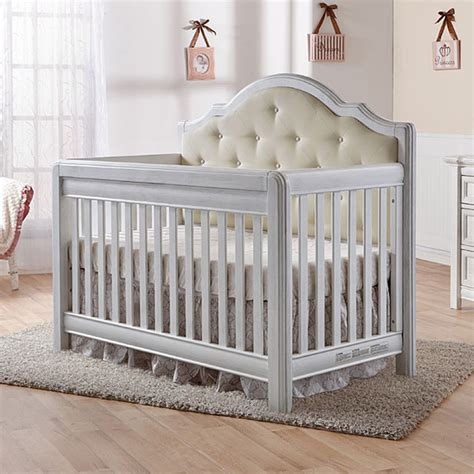 Baby White Cribs Pali Cristallo Convertible Crib In Vintage White