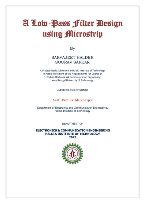 high pass filter design using microstrip low pass filter design using microstrip