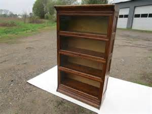 Lundstrom Barrister Bookcase Sold Arizona Antique Lundstrom C 1915 Oak 4 Sectional