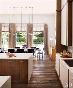 Contemporary Kitchen With White Cabinets » Home Design 2017