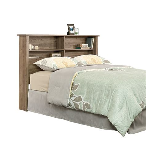 sauder bookcase headboard sauder county line full queen bookcase headboard boscov s