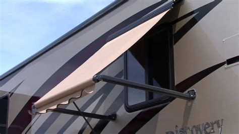 rv window awning dometic rv window awnings youtube