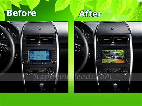 android in dash mercedes a w169 2005 2011 android in dash autoradio