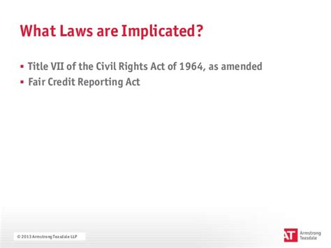 Fair Credit Reporting Act Criminal Background Check The Eeoc S Renewed Focus On Criminal Background Checks
