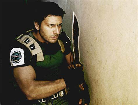 Resident Evil Chris Redfield i like to collect pictures of guys cosplaying got