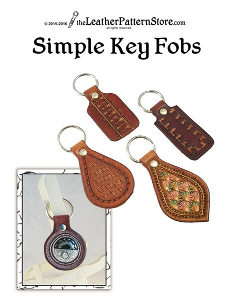 pattern simple key fob patterns for leathercraft pdf