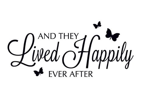 Wedding Quotes Clipart by Happily After Clipart And They Lived Happily
