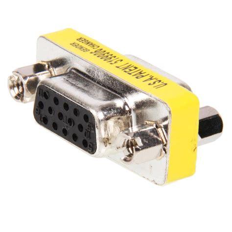 Murah Gender Vga F Vga F 15 pin svga vga to gender changer adapter
