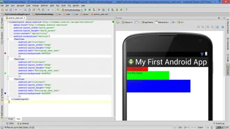 set layout width height lesson how to build android app with linearlayout plus