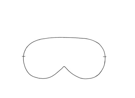 sleep mask template sleeping through the new year diy sleeping mask motte