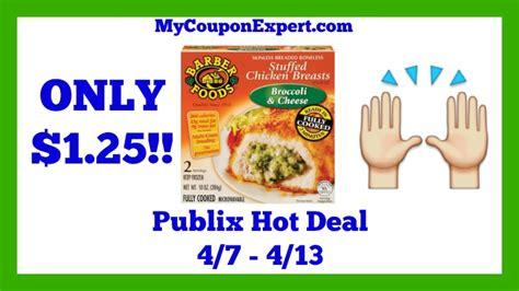 barber food printable coupons publix hot deal alert barber foods stuffed chicken