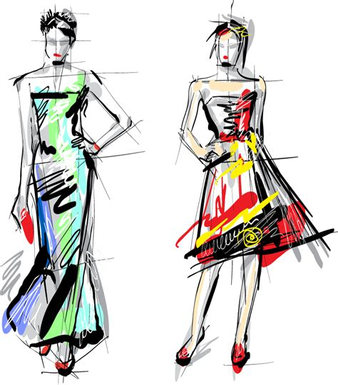 fashion illustration vector file fashion 4 free vector graphic