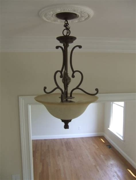 Entry Light Fixtures Foyer Light Fixture In Two Story Traditional Home Traditional Entry Other Metro By