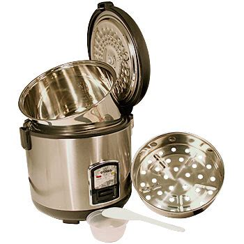 Rice Cooker Stenlis 3 best stainless steel rice cooker of 2018 reviews and buyer s guide