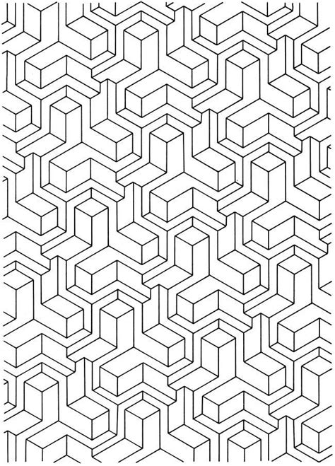 tessellation patterns coloring pages geometric tessellations coloring pages coloring home