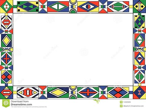 cornici tribali tribal pattern s frame stock vector image