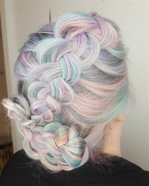 holographic hair   hot  trend   demilked