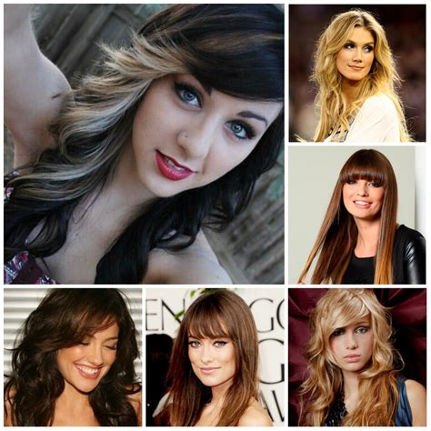 Hair Bangs Style 2016 by 2016 Best Hairstyles With Bangs 2017 Haircuts