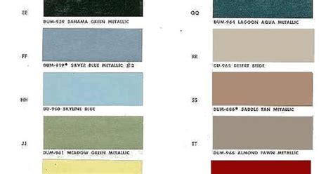 auto paint codes 1964 chevelle exterior paint codes canada paint chart auto paint