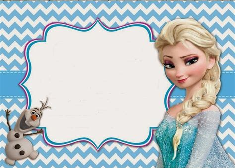 25 best ideas about free frozen invitations on pinterest