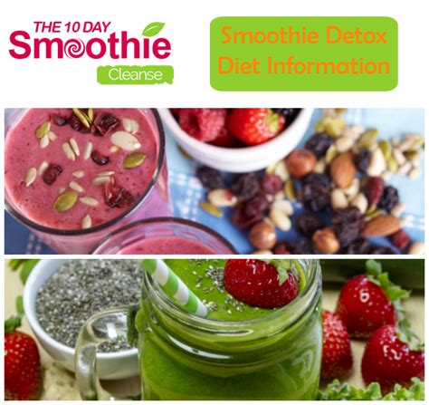 Vegetable Smoothie Detox Diet by Smoothie Detox The 10 Day Smoothie Cleanse All