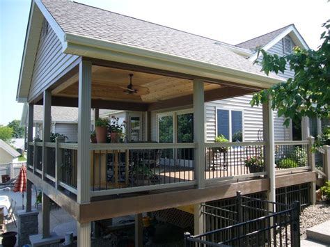 backyard covered decks best 25 covered deck designs ideas on pinterest deck