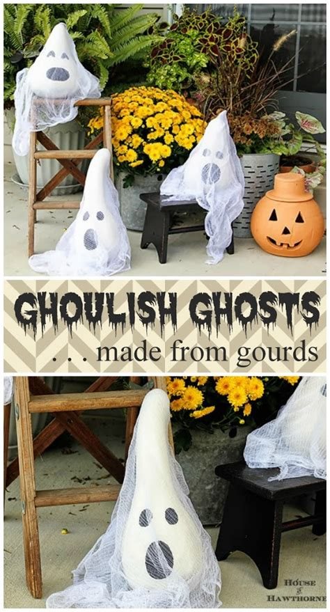 easy diy halloween home decor ideas with ghosts bats and 20 easy to make halloween decorations hative