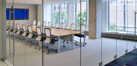 glass conference room glass wall conference room the office