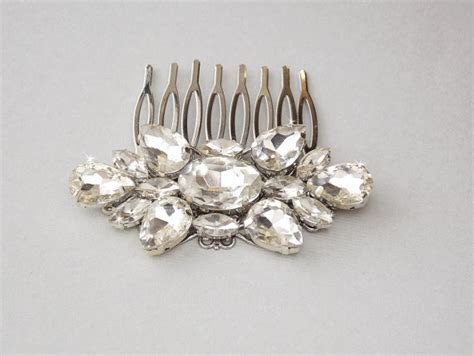 Vintage Style Wedding Hair Pieces by Vintage Style Wedding Hair Comb Bridal Hair