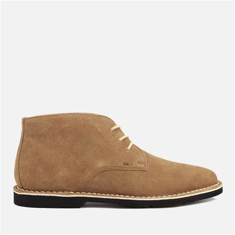 kickers victor suede brown lyst kickers kanning suede chukka boots in brown for
