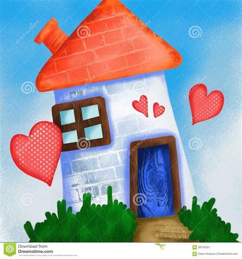 haus d amour würzburg maison d amour illustration stock image 58755057