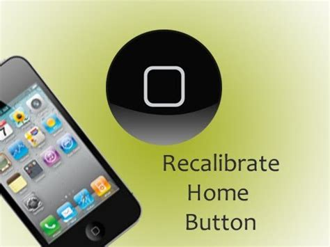 Homebutton Iphone New Home Button Iphone Itouch recalibrate home button on the iphone ipod touch