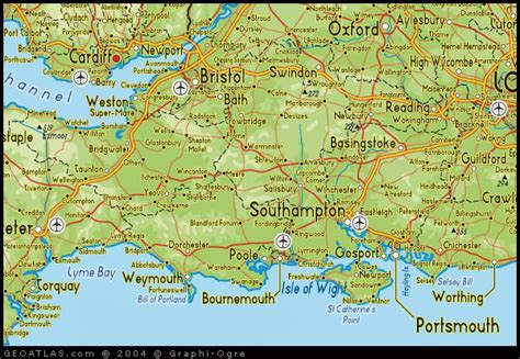 printable road map of southern england image gallery south england